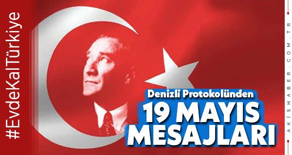 Denizli'den 19 Mayıs Mesajları