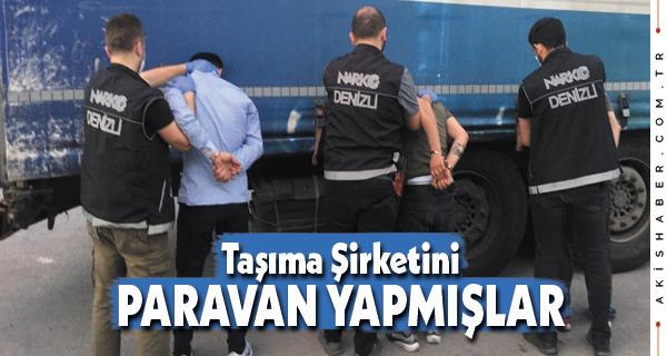 Denizli'de Zehir Tacirlerine Baskın: 8 Tutuklama