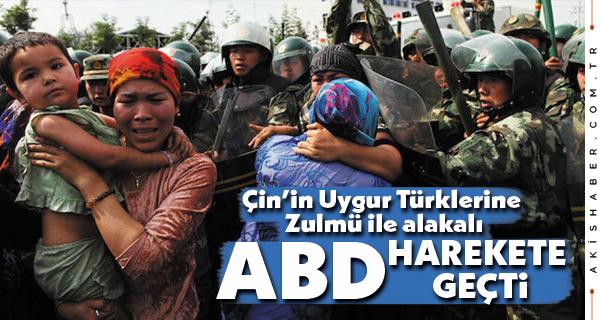 ABD'den Çin'e, Uygur Türkleri İçin Yaptırım Kararı
