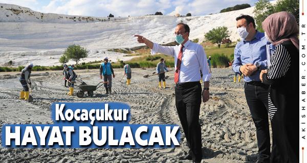 Kocaçukur'a Pamukkale Belediyesi Eli Değiyor