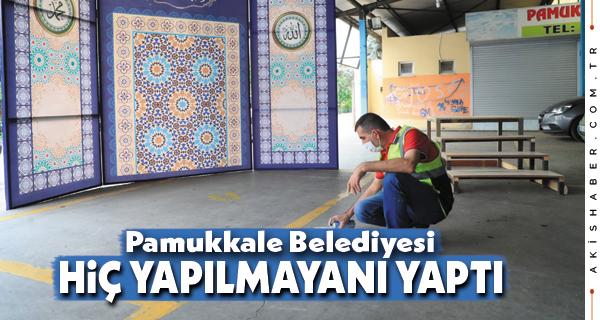 Pamukkale Belediyesi Yine Bir İlke İmza Attı