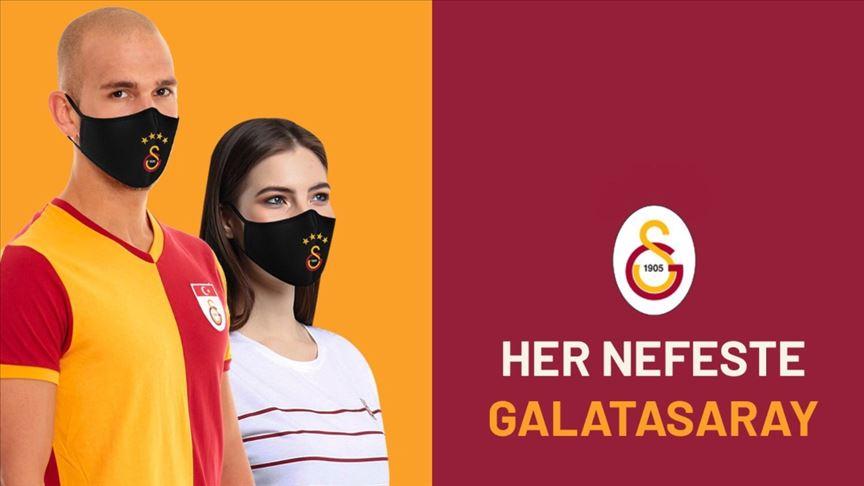 Galatasaray'dan lisanslı maske satışı