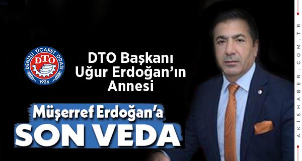 DTO Başkanı Erdoğan'ın Annesi Toprağa Verildi