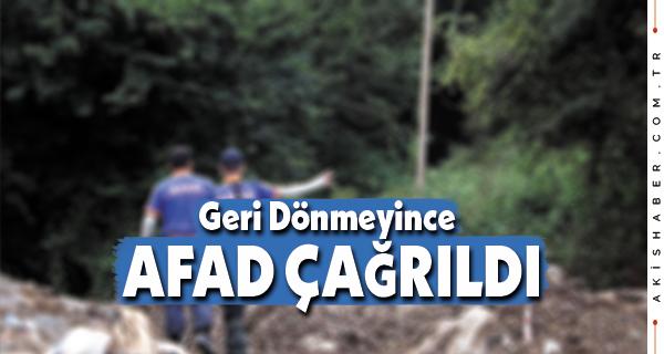 Denizli'de AFAD Kayıp Kadını Arıyor