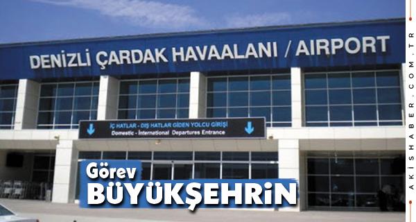 Merkezden Havalimanına Yolcuları Büyükşehir Taşıyacak