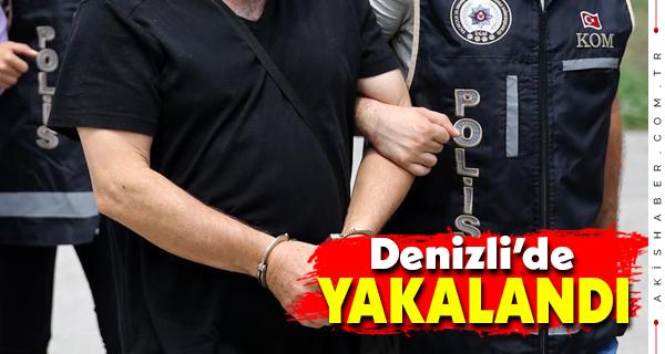 Burdur'da Aranan FETÖ'cü Denizli'de Yakalandı