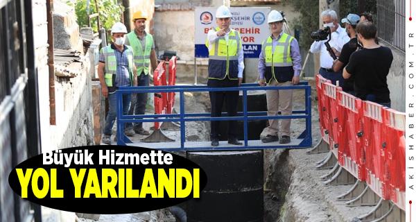 Büyükşehir 5 Mahallenin Alt Yapı Sorununu Tarihe Gömüyor