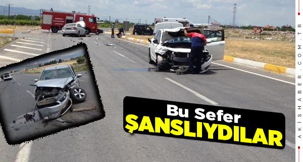 Çivril Menteş Geçişinde Kaza: 3 Yaralı