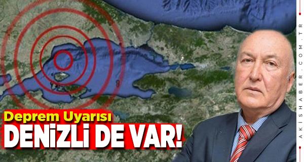 Deprem Mühendisinden Denizli İçin Uyarı