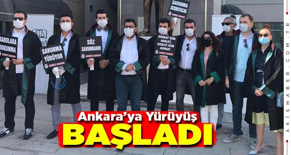 Denizli Barosu Ankara'ya Yürüyor
