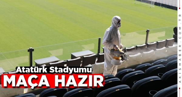 Büyükşehir'den Önemli Maç Öncesi Korona Önlemleri