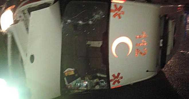 Organize'de Ambulans Yan Yattı 1'i Ağır 3 Yaralı!