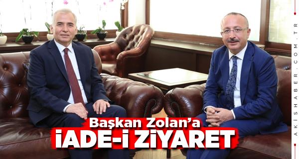 Başkan Zolan Denizli Valisi Atik'i Ağırladı
