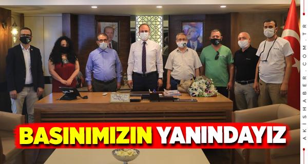 DGC'den Başkan Örki'ye Ziyaret