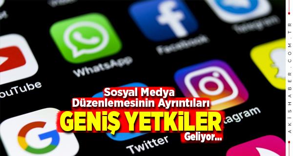 Sosyal Medya Düzenlemesinin İçeriği Ortaya Çıktı
