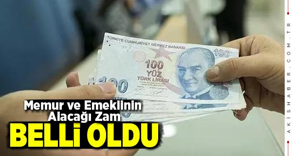 Haziran Ayı Enflasyonuna Göre Memur ve Emekli Zamları