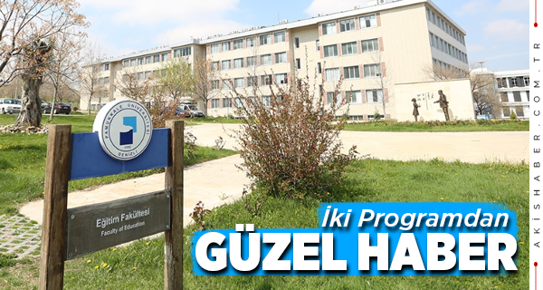 PAÜ'de 2 Program Akredite Oldu