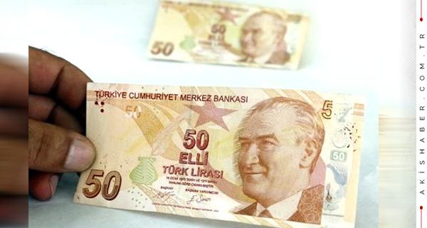50 TL'lik Banknot Tam 75 Bin TL