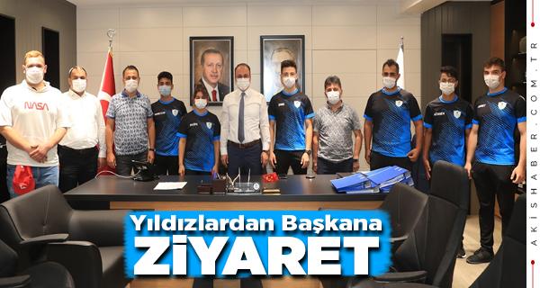 Başkan Örki: Gururumuzsunuz