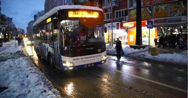 Denizli'de Otobüs Güzargahları Değişti!
