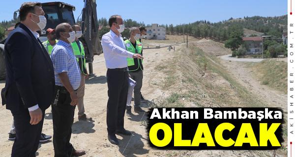 Pamukkale Belediyesi Akhan'ı Güzelleştiriyor