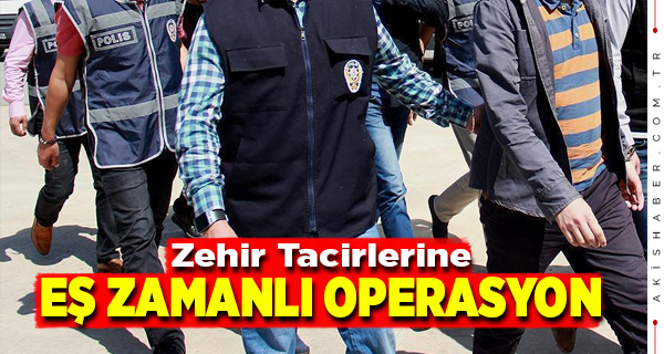 Denizli'de 9 Zehir Taciri Tutuklandı