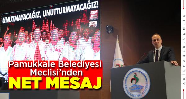 Pamukkale Belediyesinden 15 Temmuz Programı