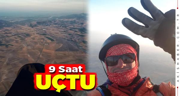 Denizlili Paraşütçü Türkiye Rekorunu Kırdı