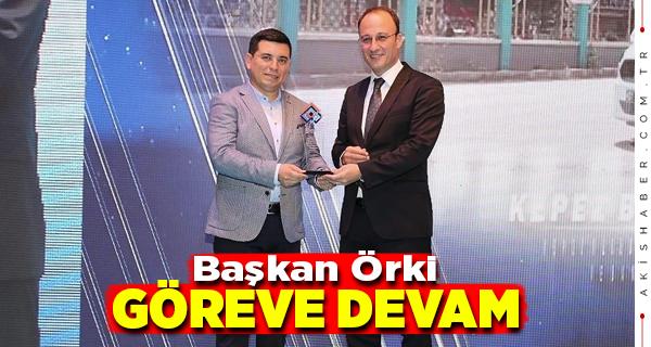Başkan Örki, Bir Defa Daha Encümen Üyesi Oldu