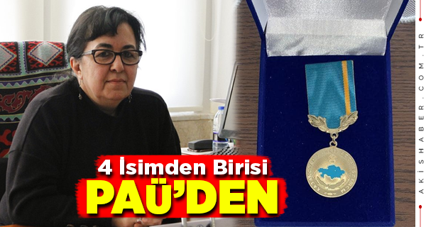 PAÜ'lü Prof'a Kazakistan'dan Büyük Ödül
