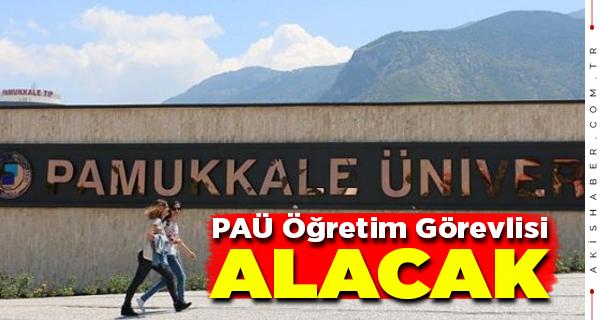 Pamukkale Üniversitesi Personel Alacak
