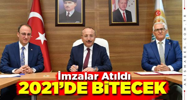 Vali Atik'in İlk Protokolü Pamukkale Belediyesi'yle