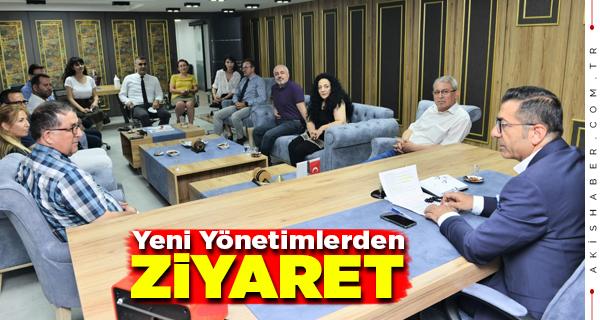 Başkan Erdoğan Denizlili Gazetecileri Ağırladı