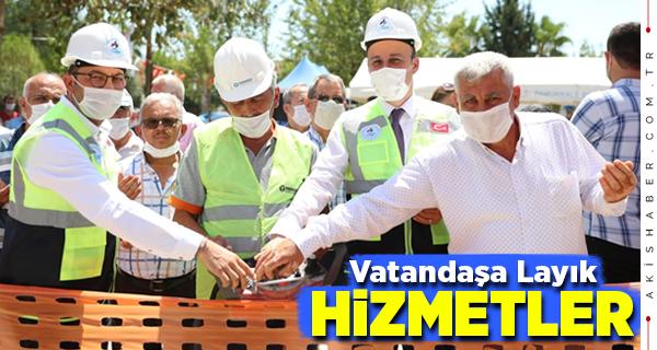 Pamukkale Belediyesi Hizmete Mola Vermiyor