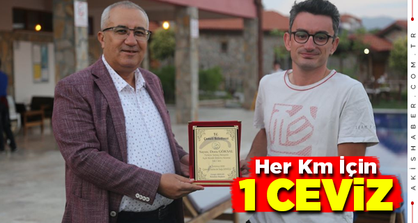 Başkan Arslan Türkiye Rekortmenini Ödüllendirdi