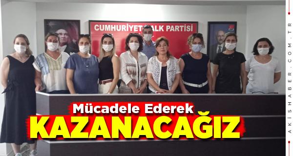 CHP Kadın Kolları: Yasta Değil İsyandayız!