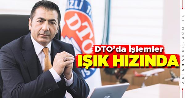 """Başkan Erdoğan: """"DTO, Yeniliklerden Geri Kalmıyor"""""""