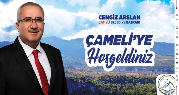 Başkan Arslan'dan Misafirlere 'Hoş Geldiniz' Mesajı
