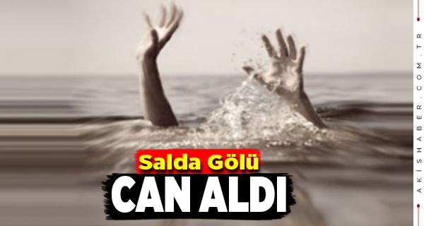 13 Yaşındaki Çocuk Salda Gölünde Boğuldu