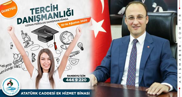 Pamukkale Belediyesi'nden Ücretsiz Tercih Danışmanlığı
