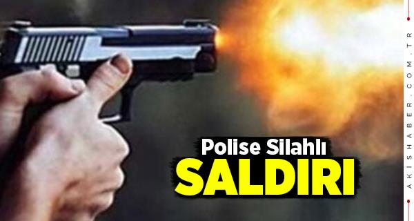 Denizli'de Silahlı Saldırıda Bir Polis Yaralandı
