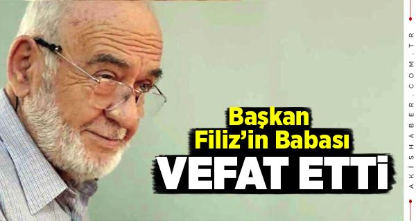 Ali Filiz Vefat Etti