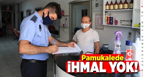 Pamukkale Belediyesi'nden Sıkı Denetim