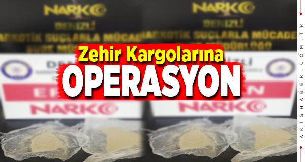 Denizli'de Uyuşturucu Kaçakçılarına Polis Şoku