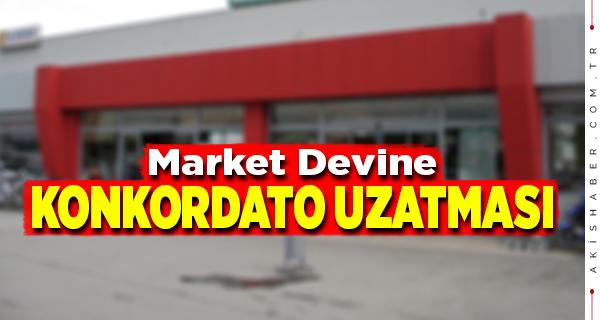 Denizlili Market Zinciri Konkordatodan Kurtulamadı