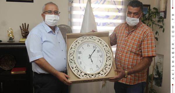 Başkan Arslan'a El Emeği Davetiye