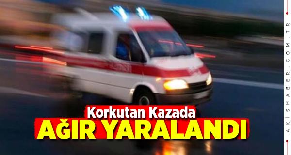 Denizli'de Otomobille Belediye Aracı Çarpıştı