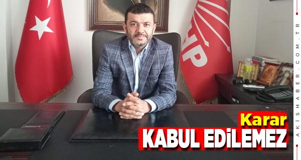 Başkan Çavuşoğlu'ndan Kısıtlama Kararına Tepki