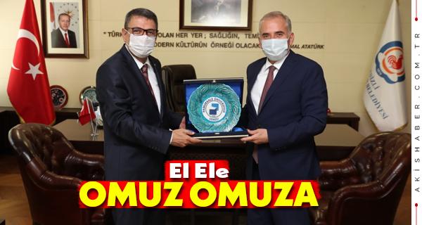 Başkan Zolan Rektör Vekili Kutluhan'ı Ağırladı