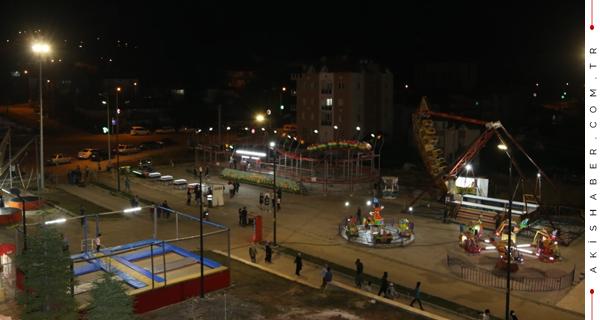 Çameli'de Lunapark Heyecanı